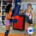 Boxing loving teens fucking eachothers tight and wet pussy